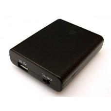 電池箱單這個USB接口3×4